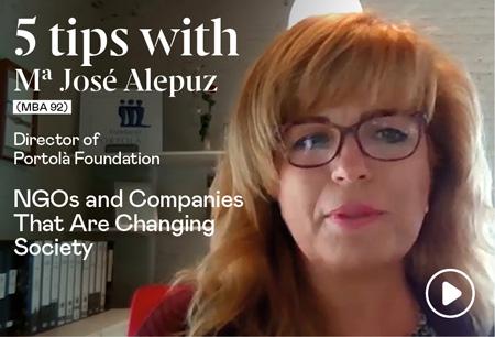 5 tips with Mª José Alepuz