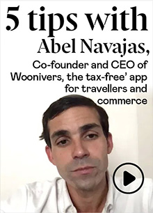 Abel Navajas (EMMV '16), co-founder and CEO of Woonivers
