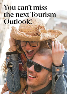 You can't miss the next 'Tourism Outlook'!