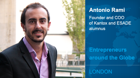 Interview With :    Antonio Rami, Founder of Kantox